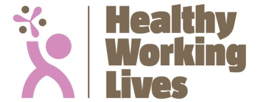 logo healthy working lives